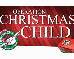 Operation Christmas Child - AUGUST 2020 Update