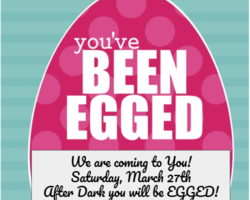 "Children's Ministry: ""House Egging"" Sign-Up & News"