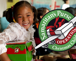 UMW's Annual Operation Christmas Child Project