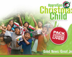 UMW's Operation Christmas Child Project