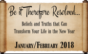 Be it Therefore Resolved...THINGS WILL CHANGE